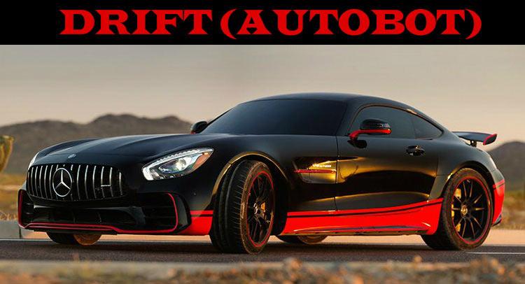 Майкл Бей вовлек Mercedes AMG GT-R в новую часть «Трансформеров»