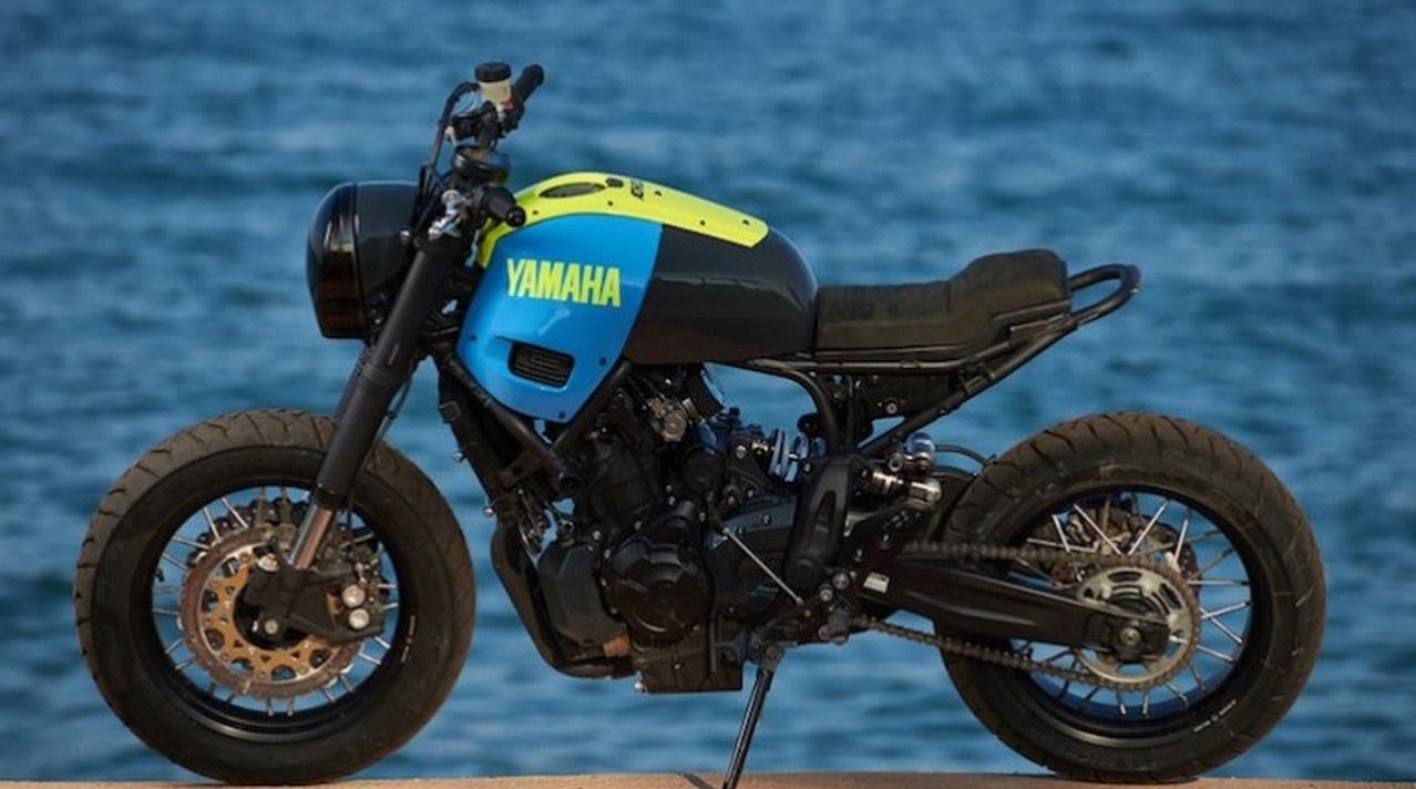 Кастомный Yamaha XSR700 Otokomae, мотоцикл для созерцания