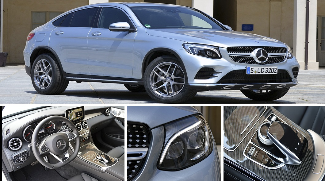 ������ �������� ����-�����: 2017 Mercedes-Benz GLC300 Coupe ����