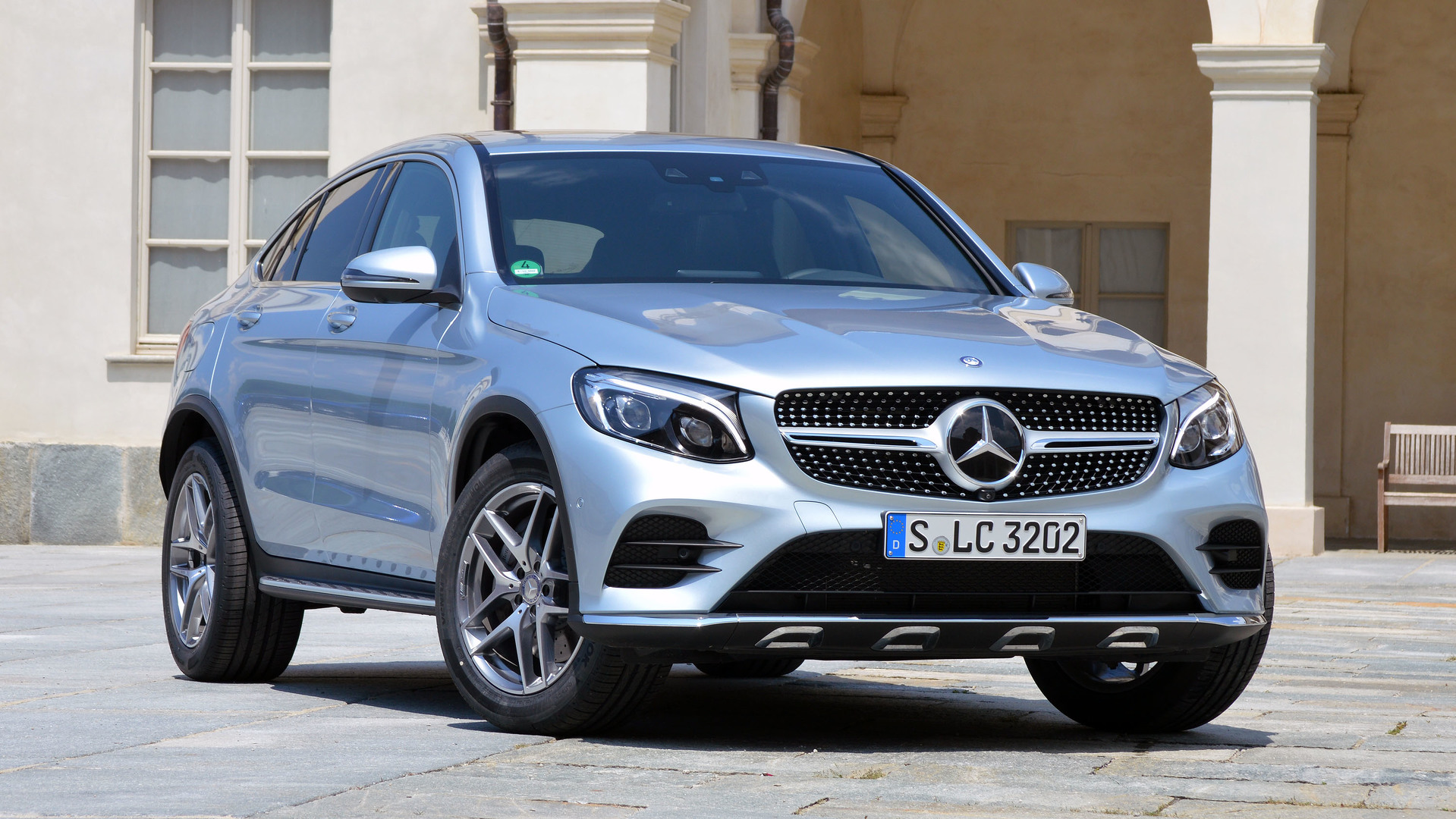 2017 Mercedes Benz Glc300 Coupe