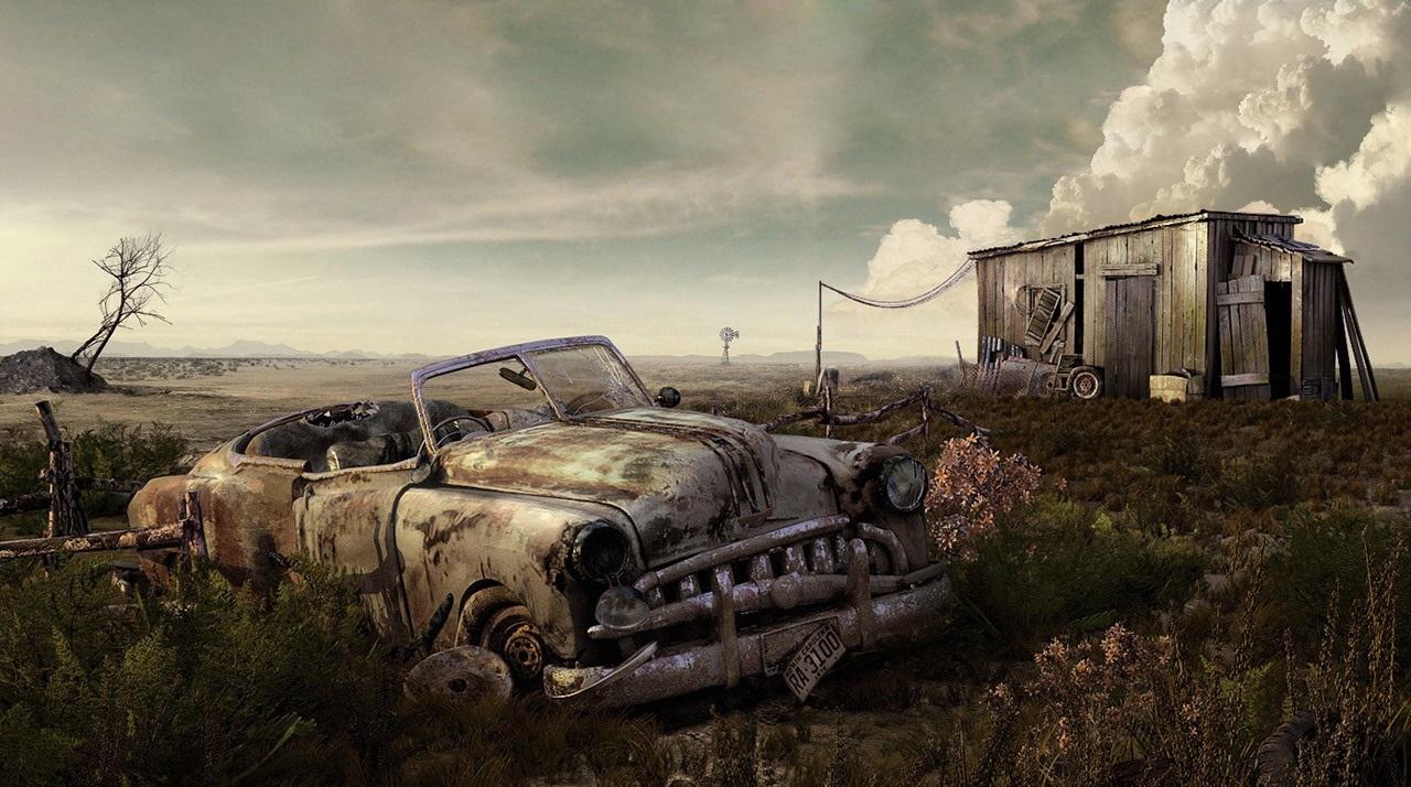 Заводим заброшенные машины, нереально красивое зрелище! [Видео]