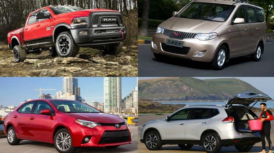 Топ-20 самых продаваемых автомобилей мире в 2016 году