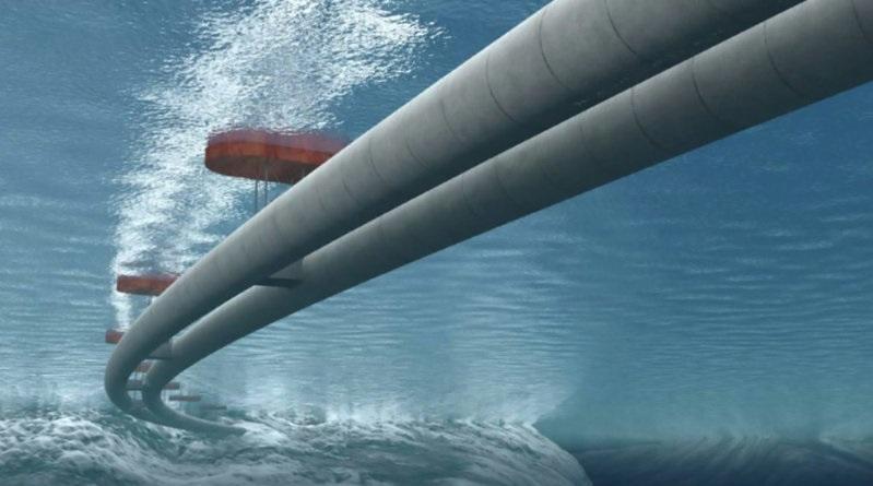 В Норвегии разработан новый проект подводных мостов