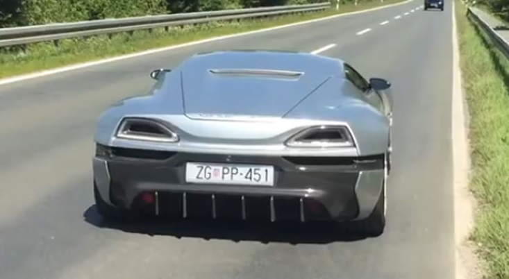 Rimac Concept_One Electric, динамика [Видео] фото