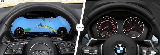 Audi Q2 против BMW X1