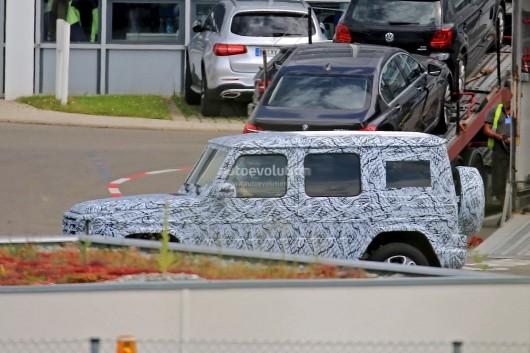 2018 Mercedes-Benz G-класса: Второе поколение уже скоро