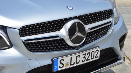 Первый обзорный тест-драйв: 2017 Mercedes-Benz GLC300 Coupe