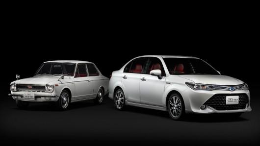 Toyota Corolla празднует 50-летие выпуском лимитированной модели Axio '50 Limited'