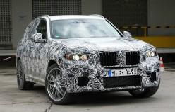 Прототип 2018 BMW X3 M испытывают на Нюрбургринге [Видео]