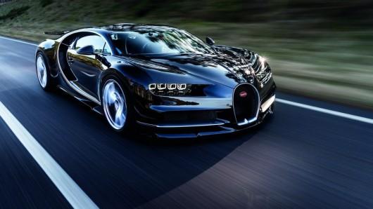 Вот как выглядел первый эскиз Bugatti Chiron