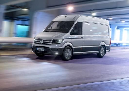 Новый 2017 Volkswagen Crafter будет доступен с сотнями конфигураций и опций