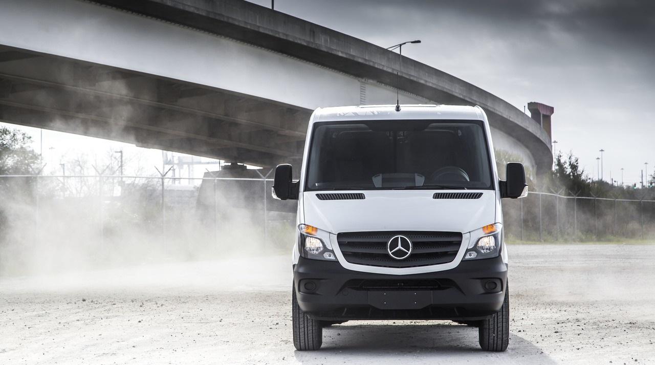 Грузовой фургон Мерседес Спринтер следующего поколения может стать электромобилем