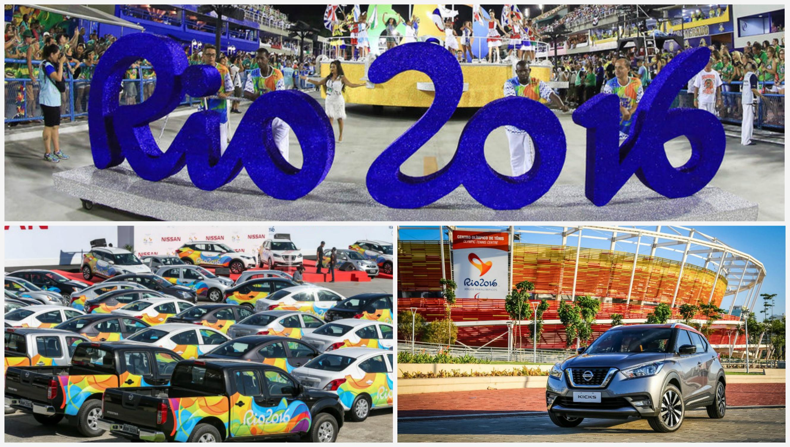 Какие модели становились официальными автомобилями на Олимпийских играх?