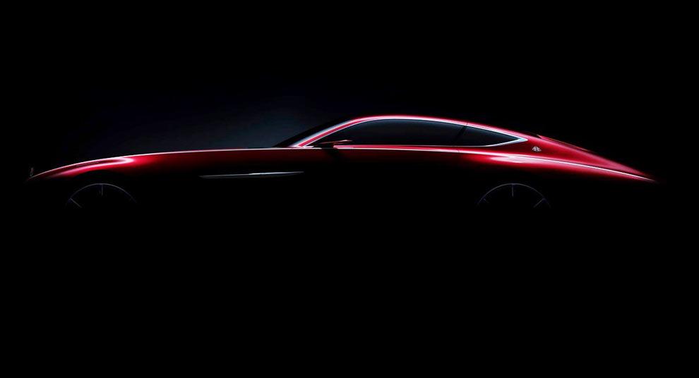 Первая официальная фотография купе Мерседес-Майбах