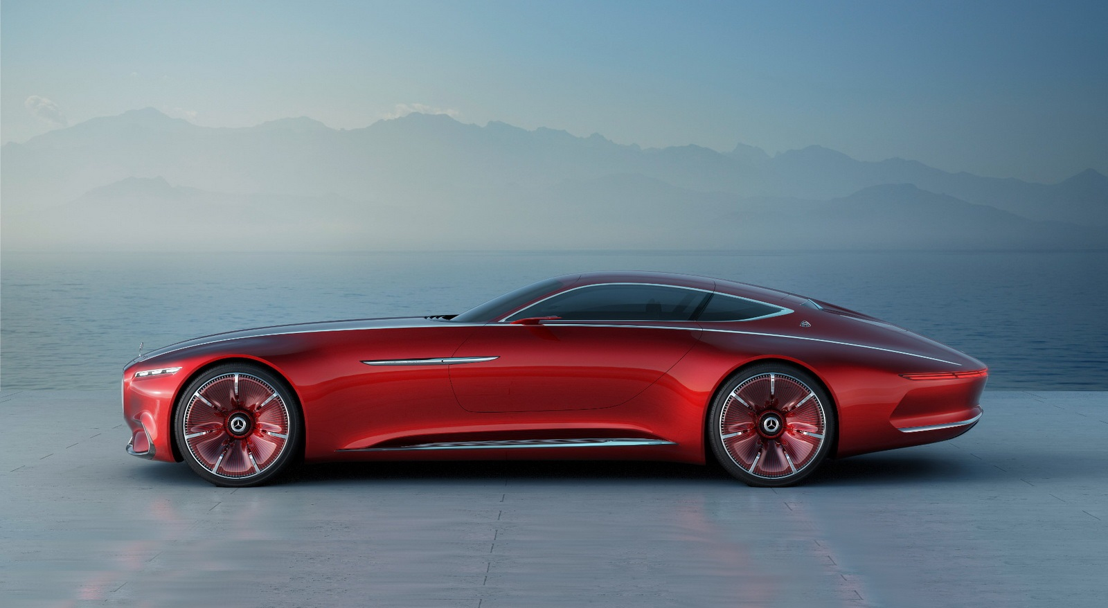 Vision Mercedes-Maybach 6 Concept ������ ���������� ����� ����������� ������� ����