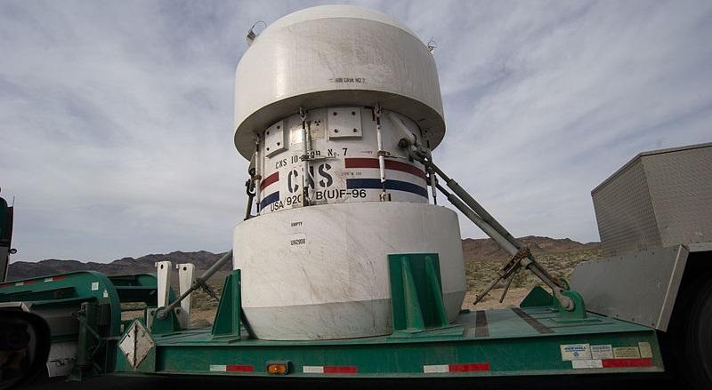 Видео: Как испытывали безопасность контейнера для ядерных отходов