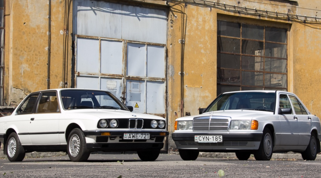 BMW 316 ������ Mercedes-Benz 190