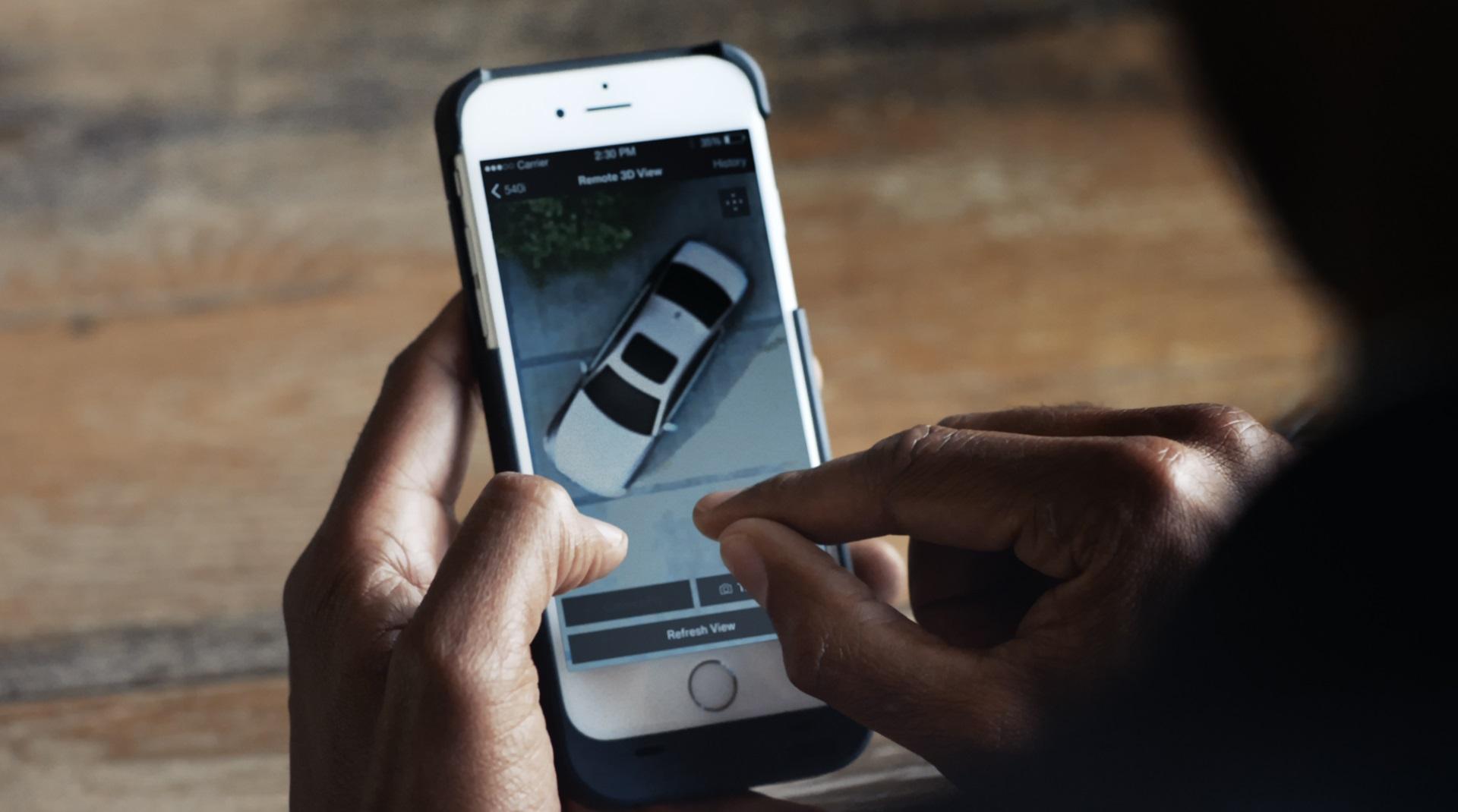 BMW показала новую технологию удаленного слежения за автомобилем