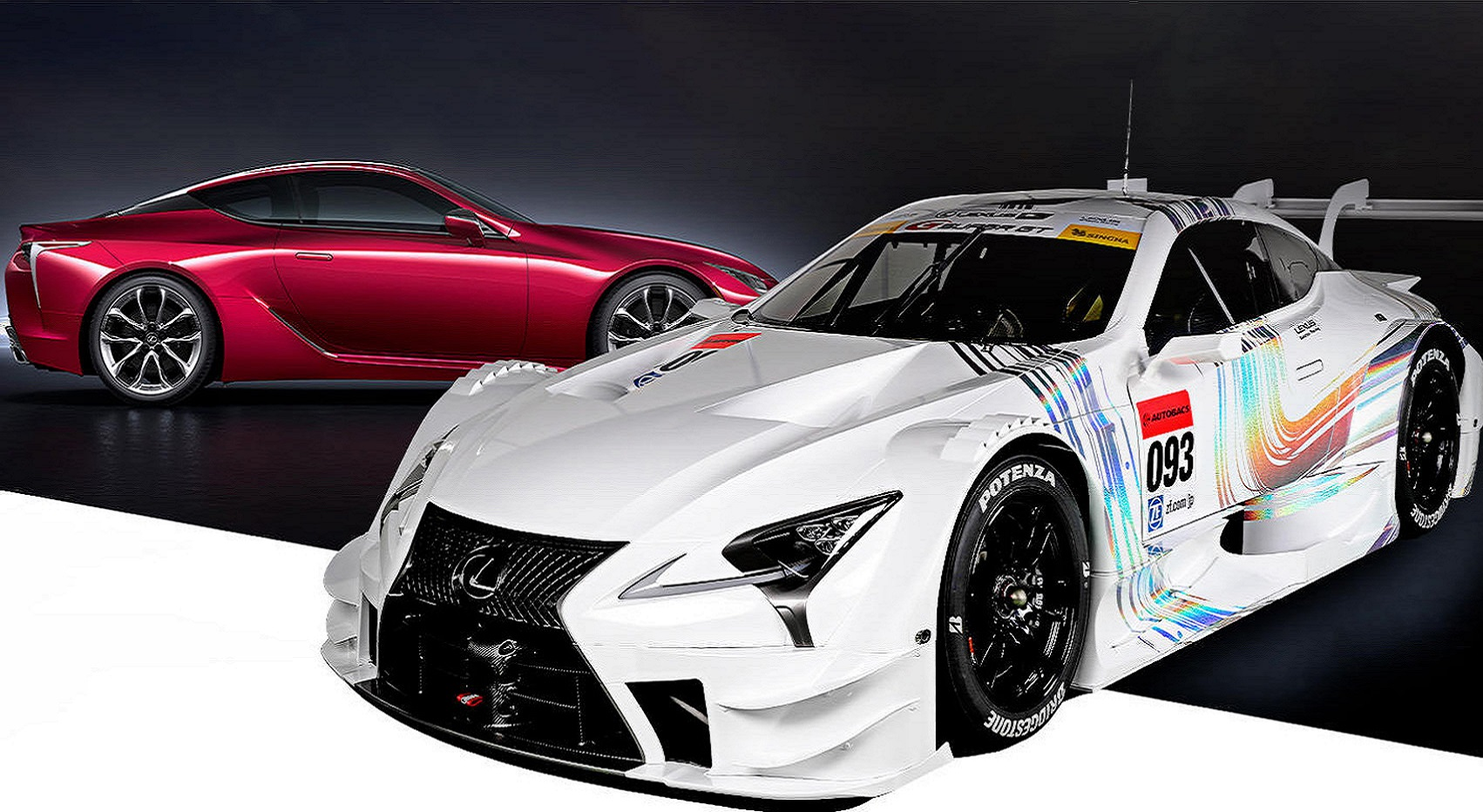 2017 Lexus LC Super GT, японцы показали новый гоночный болид