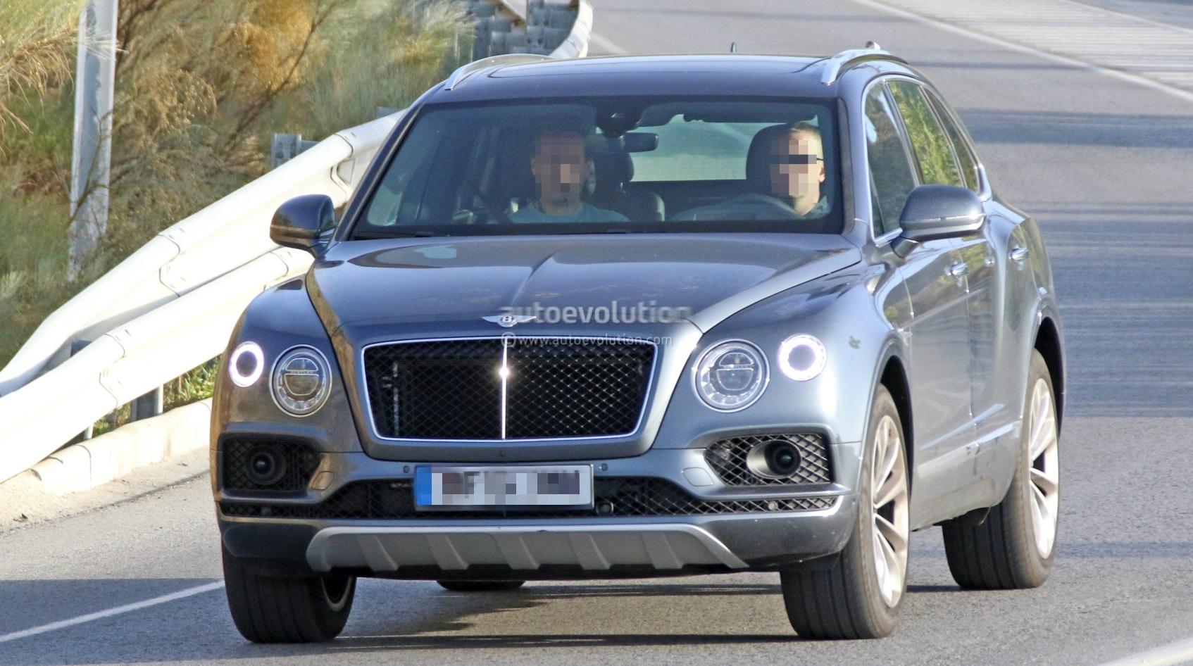 Bentley готовит к Парижскому автосалону дизельную версию Bentayga