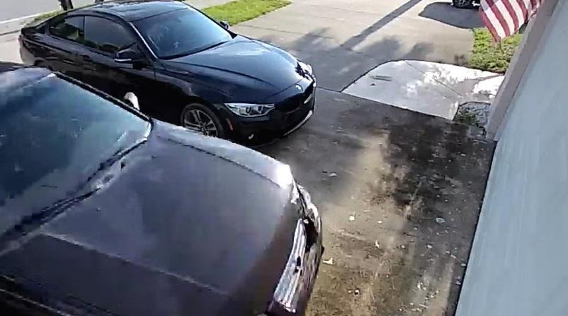 Видео: Эпичный дриф и эффектный въезд в гараж