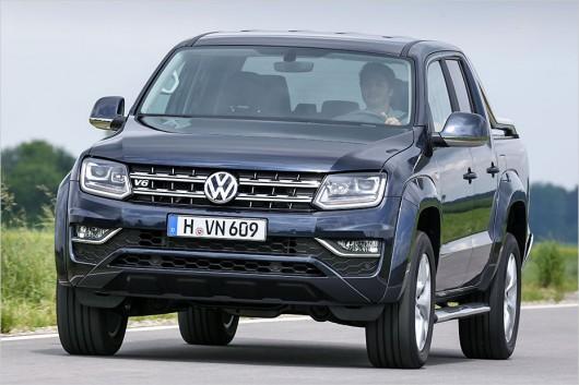 Новый Volkswagen Amarok: Премиум пикап с дизельным двигателем