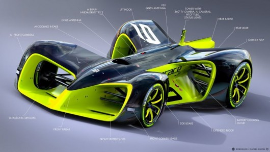 Гоночный автономный автомобиль, будущее уже наступило
