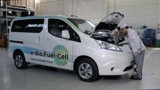 Ниссан разработал систему топливных элементов, работающую на биоэтаноле