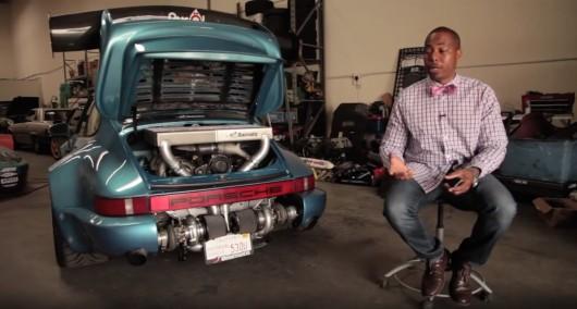 Самая странная замена двигателя в мире, мотор от Hyundai в кузов Porsche 911