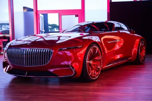 Mercedes-Maybach 6 Coupe: Внешность полностью раскрыта