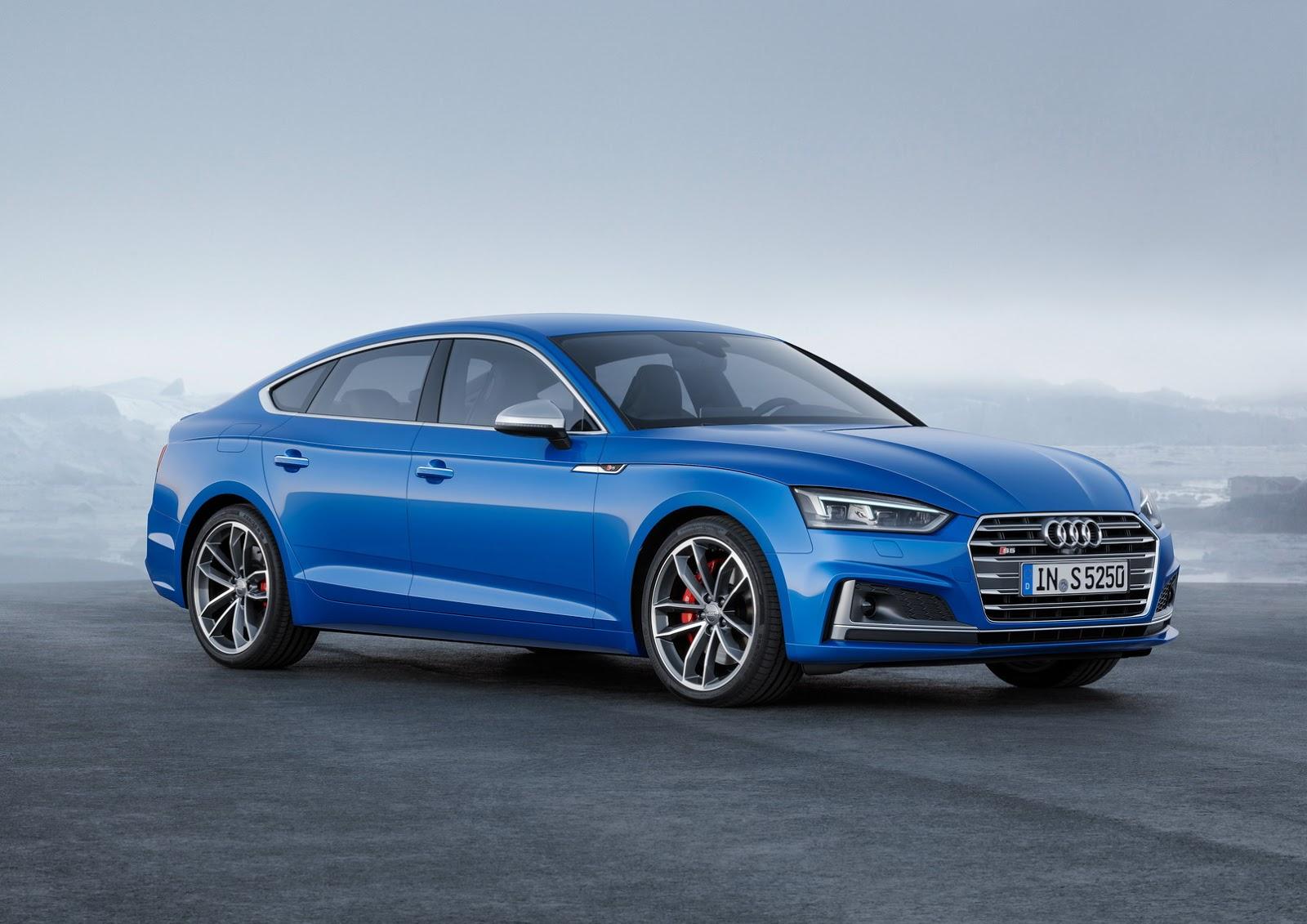Audi презентовал новую модель A5 Sportback 2018 года