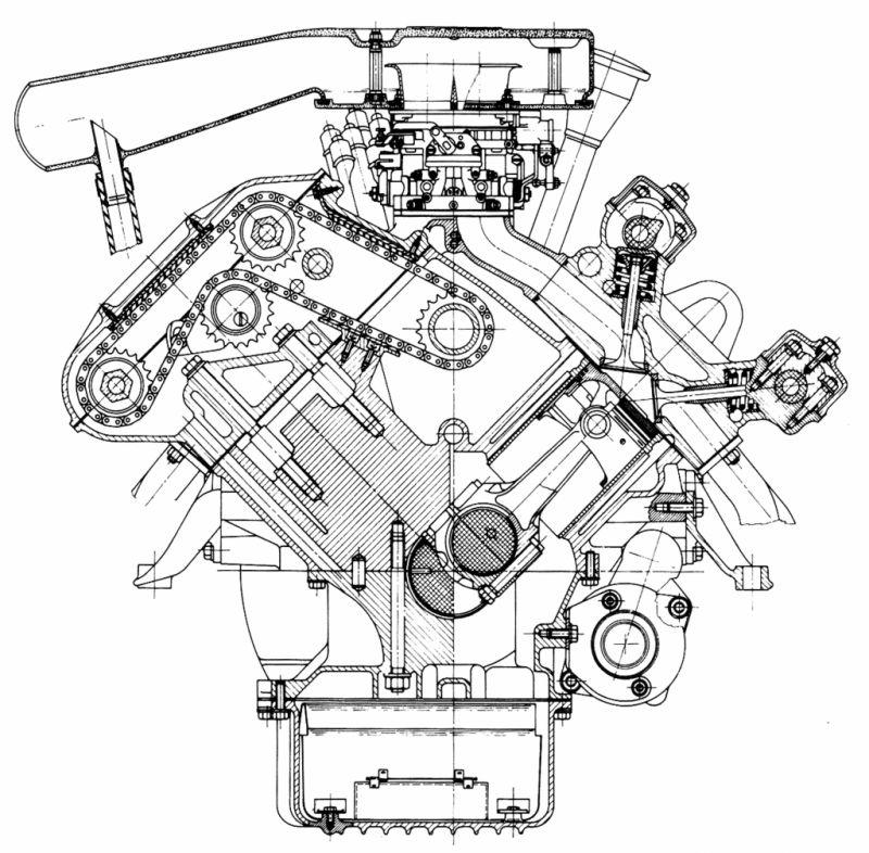 Case W20 Engine