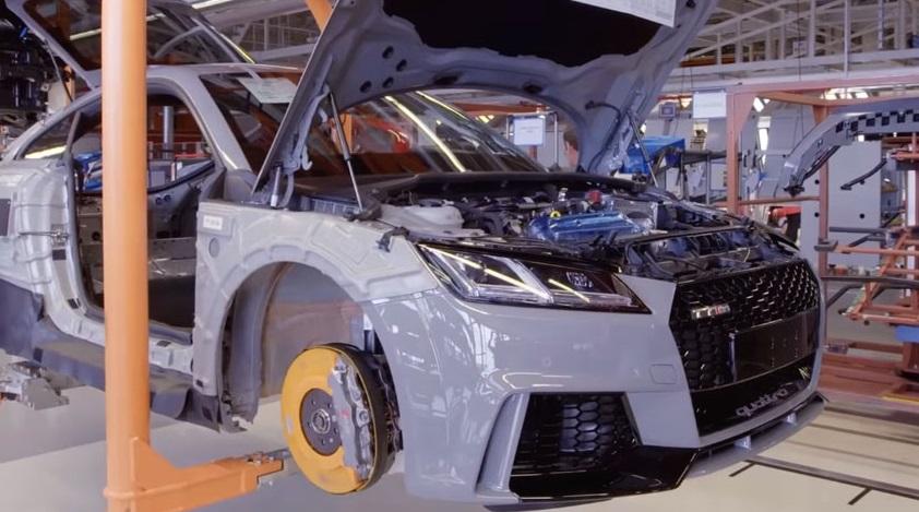 Вот как рождается Audi TT RS: Видео