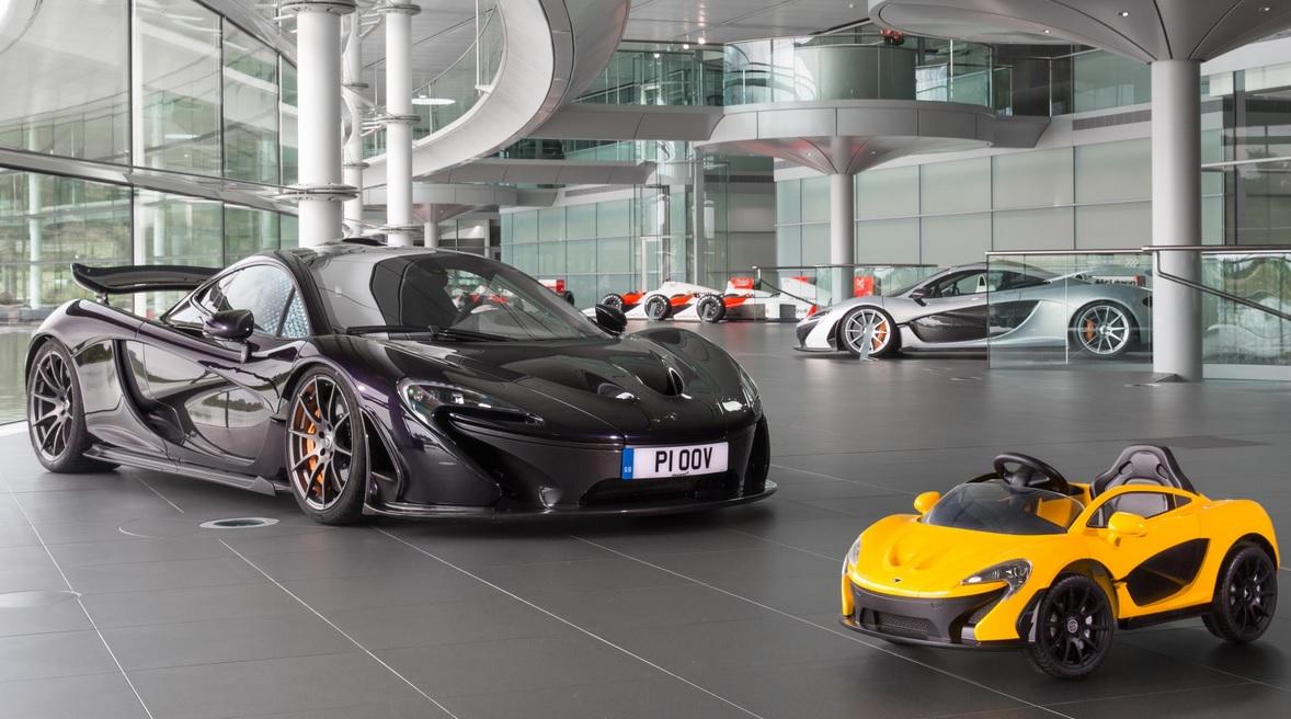 McLaren и Mercedes AMG показали новые игрушечные машины