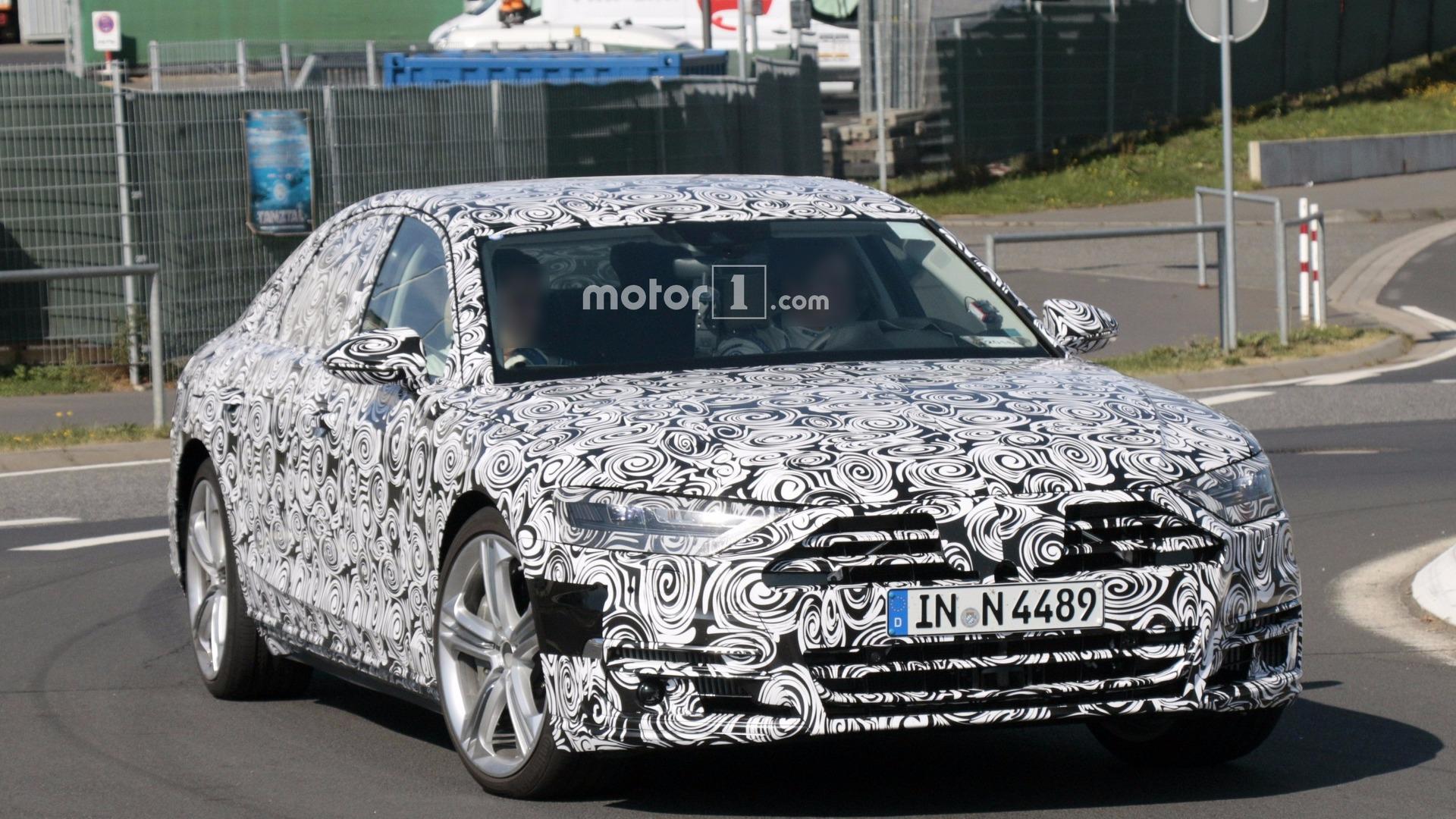 Audi S8 2019 модельного года: новое поколение седана изоражения