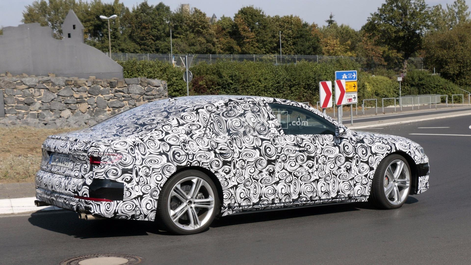 Смотреть Audi S8 2019 модельного года: новое поколение седана видео