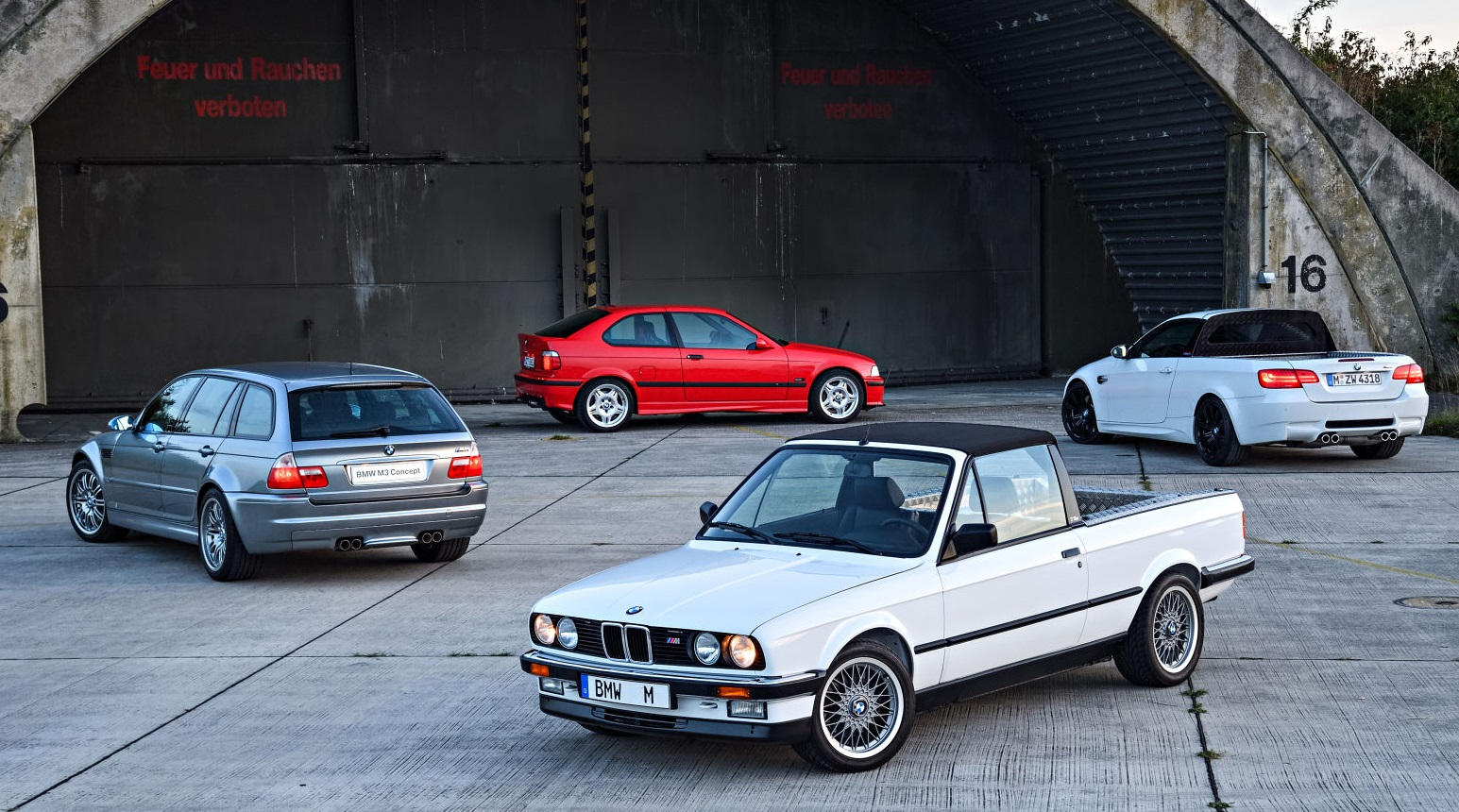 Самые крутые концепт-кары BMW M3 за 30 лет