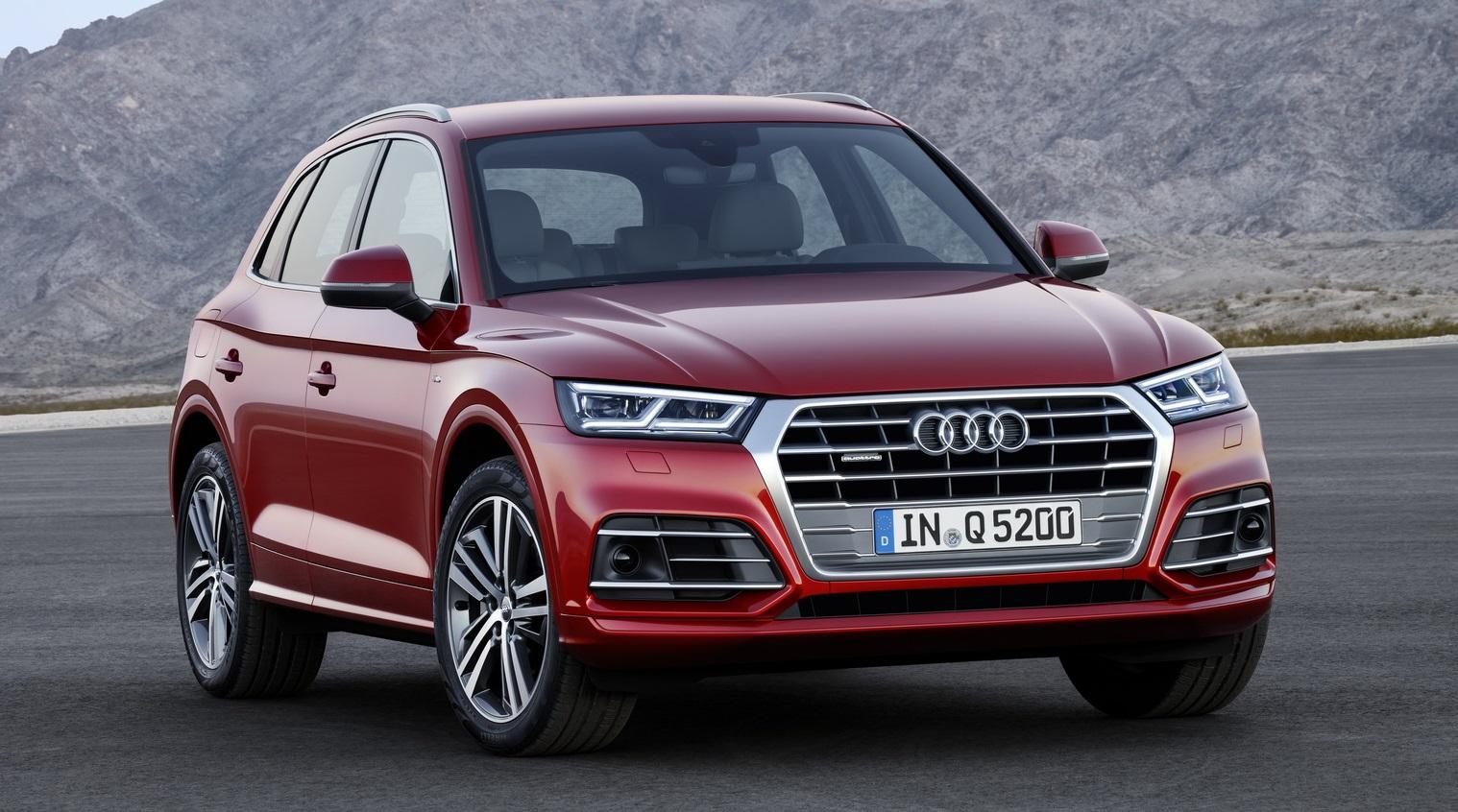 2017 Audi Q5, новый дизайн, новая мощность