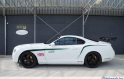 Bentley Continental GT3 R сделанный из Toyota Supra