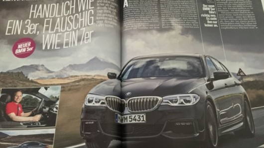 Фотографии BMW 5-серии G30 и спецификации