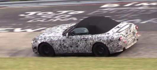 Первое видео испытаний 2018 BMW Z5