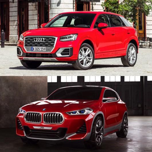 Сравнение: BMW X2 против Audi Q2