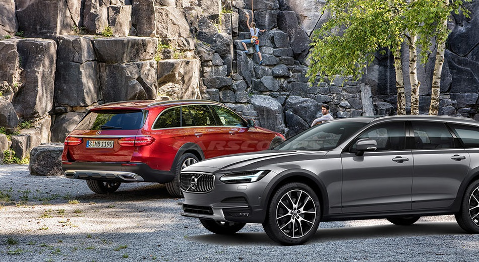 Mercedes E-Class All-Terrain против Volvo V90 Cross Country, кого выберете вы? фото