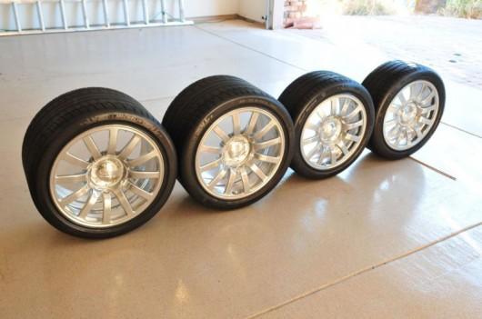 Комплект колес Bugatti Veyron