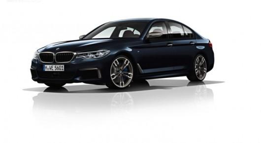 Первая официальная информация о BMW G30 M550i