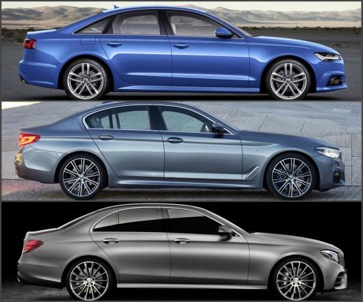Сравнение: BMW 5-серии G30 против Audi A6 и Mercedes E-Class W213