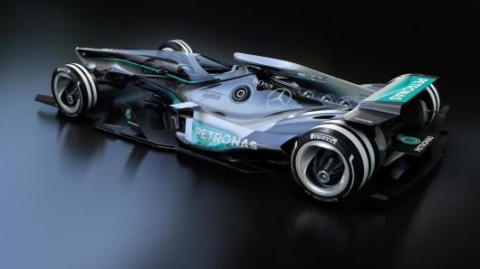 Возможно так будут выглядеть болиды Формула 1 в 2030 году