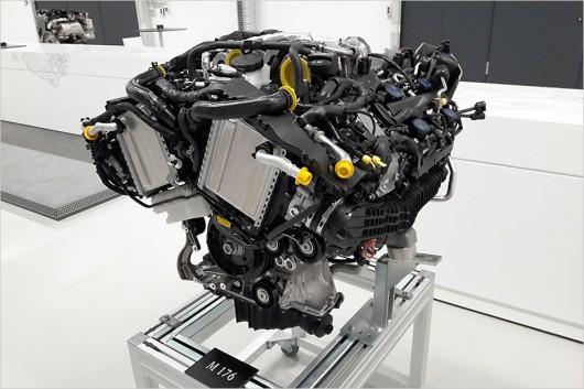 двигатели мерседес s класса