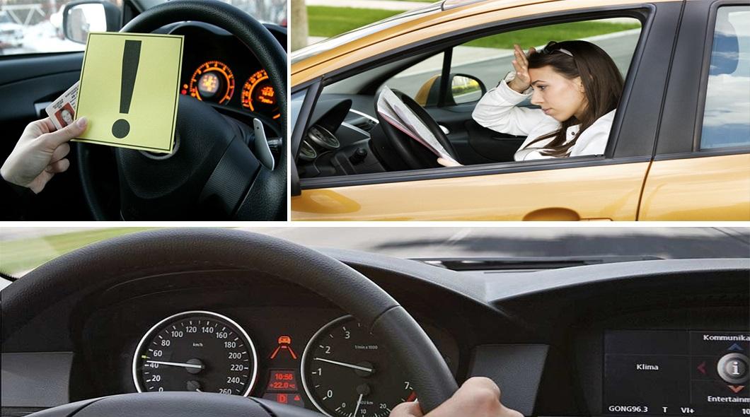 Водителям-новичкам ограничат скорость 70 км/ч