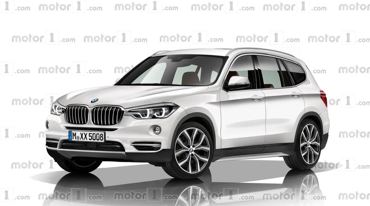 Шпионские фотографии 2018 BMW X3